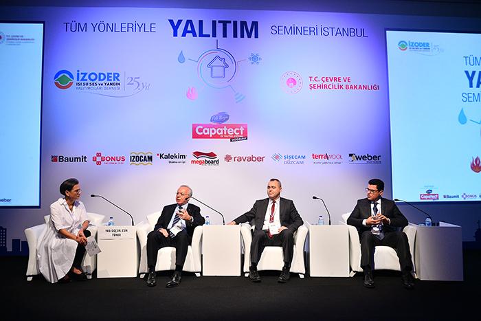 İZODER, 'Yalıtım Seminerleri'nin Finalini İstanbul'da Yaptı